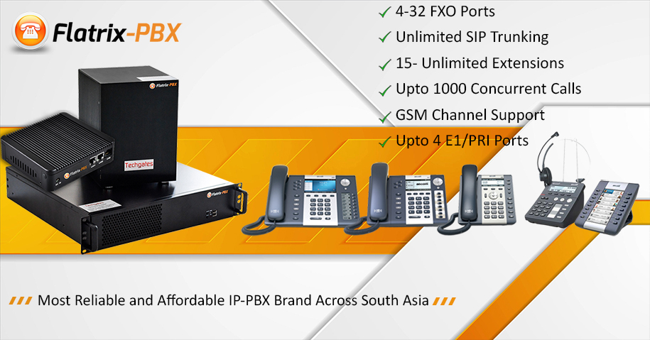 Flatrix-PBX Appliances